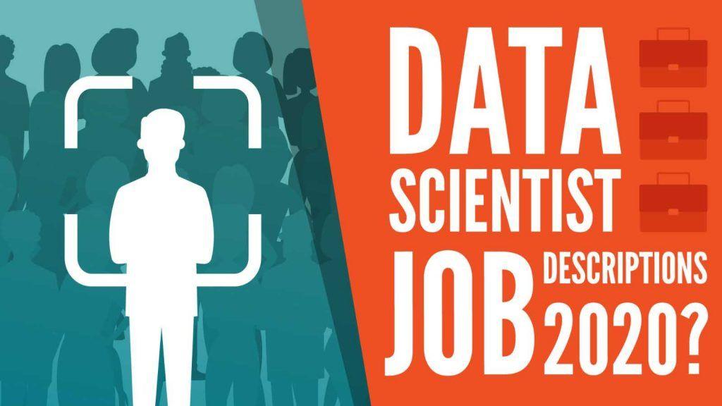 data scientist job descriptions 2020