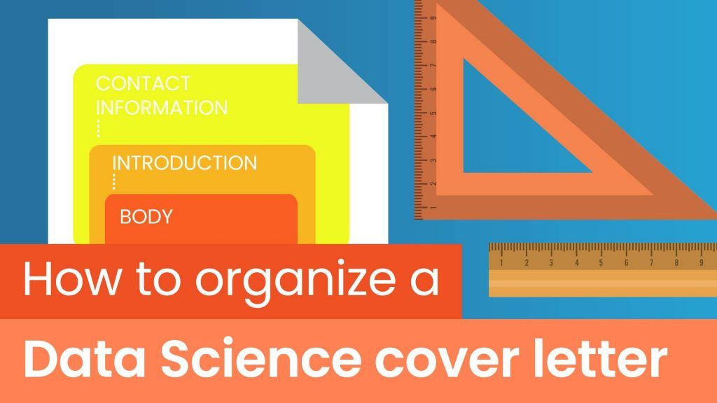 how to organize a data science cover letter, what to include in a data science cover letter, what to write in a data science cover letter, paragraphs in a data science cover letter
