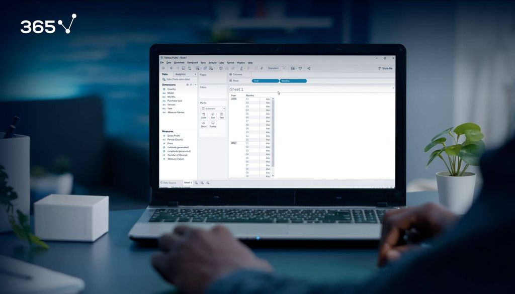 tables in tableau, create a table in tableau