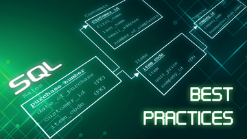 SQL Best Practices - How to type code cleanly and perfectly organized