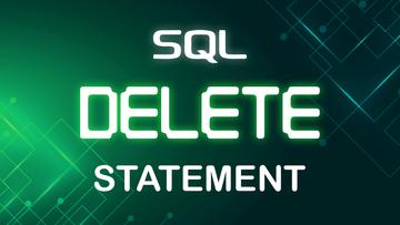 SQL DELETE Statement