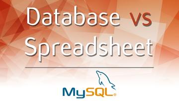 Database vs Spreadsheet
