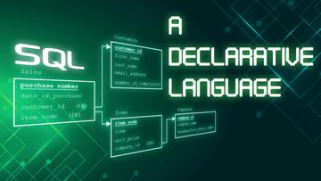 SQL is a Declarative Language