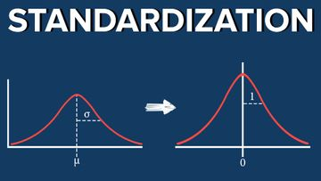 Obtaining Standard Normal Distribution Step-By-Step