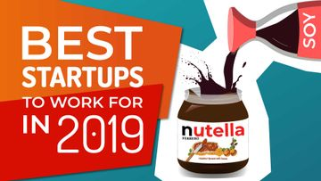 Best Startups 2019 to Work For