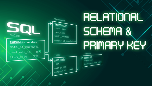 What are Relational Schemas and What is a Primary Key