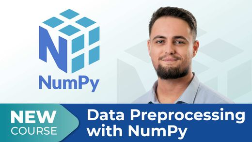 New Course! Data Preprocessing with NumPy