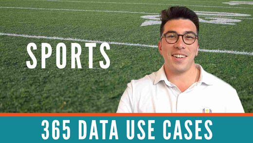 365 Data Use Cases: Data Science and Sports Analytics with Ken Jee
