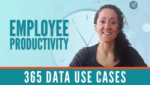365 Data Use Cases: Data Science and Employee Productivity with Nicki