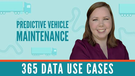365 Data Use Cases: Vehicle Predictive Maintenance with Jen
